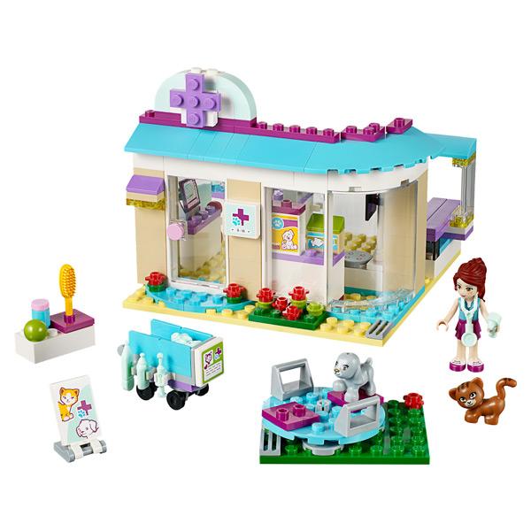 Лего Подружки 41085 Ветеринарная клиника
