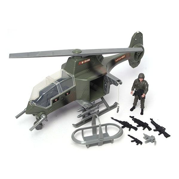 """Boley 31297 """"Военные"""" 2 набора: танк с аксессуарами или самолет (в ассортименте)"""