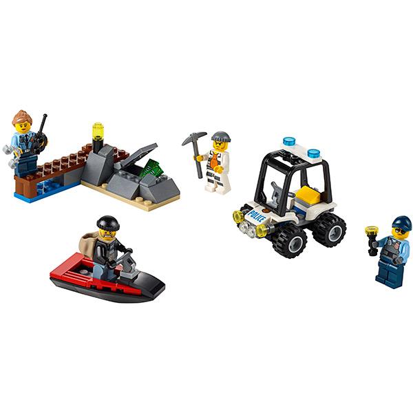 """Lego City 60127 Конструктор Лего Город Набор для начинающих """"Остров-тюрьма"""""""