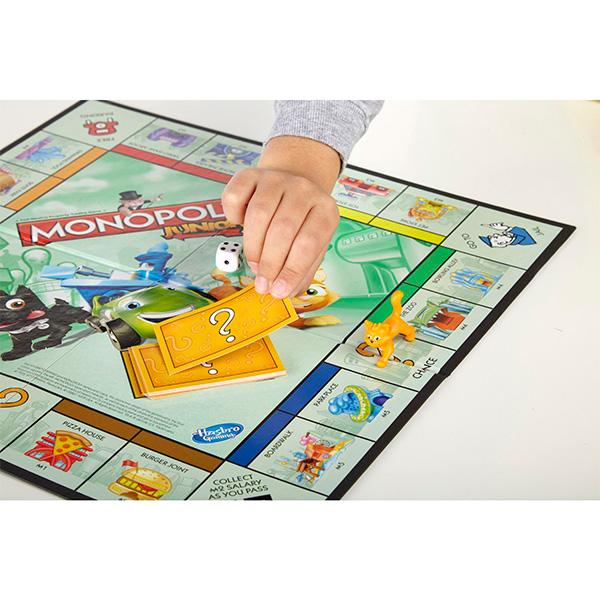 Hasbro Monopoly A6984 Настольная игра Моя первая Монополия