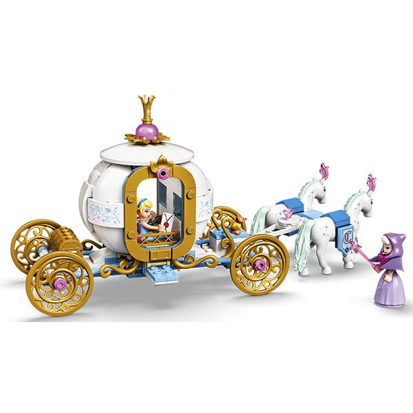 LEGO Disney Princess 43192 Конструктор ЛЕГО Принцессы Дисней Королевская карета Золушки