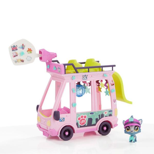 Hasbro Littlest Pet Shop B3806 Литлс Пет Шоп Набор Автобус