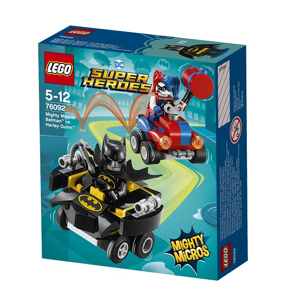 Lego Super Heroes Mighty Micros 76092 Конструктор Лего Супер Герои Бэтмен против Харли Квин