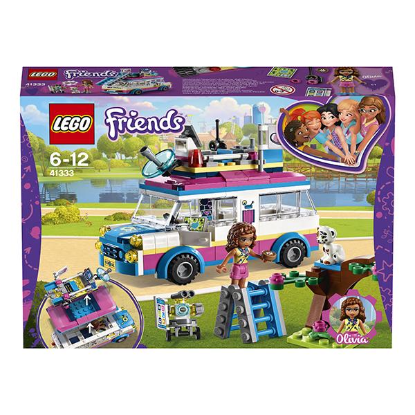 LEGO Friends 41333 Конструктор ЛЕГО Подружки Передвижная научная лаборатория Оливии