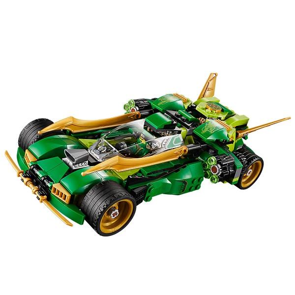 LEGO Ninjago 70641 Конструктор ЛЕГО Ниндзяго Ночной вездеход ниндзя