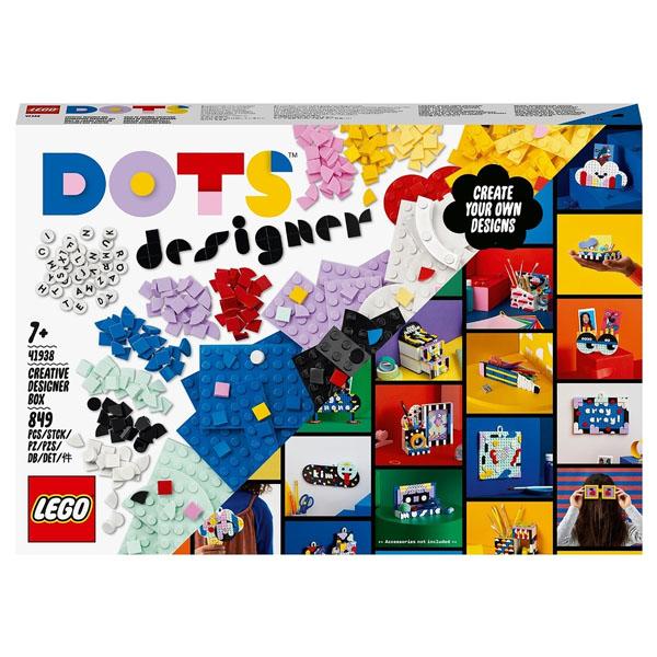 LEGO DOTs 41938 ЛЕГО Дотс Творческий набор для дизайнера