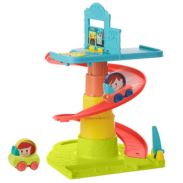 Hasbro Playskool B1649 Возьми с собой Веселый Гараж hasbro play doh игровой набор из 3 цветов цвета в ассортименте с 2 лет