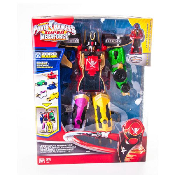 Трансформер Power Rangers Samurai 38095 Пауэр Рейнджерс Супер мегазорд 1-ый