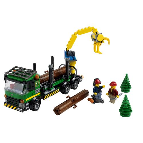 LEGO City 60059 Конструктор ЛЕГО Город Лесовоз