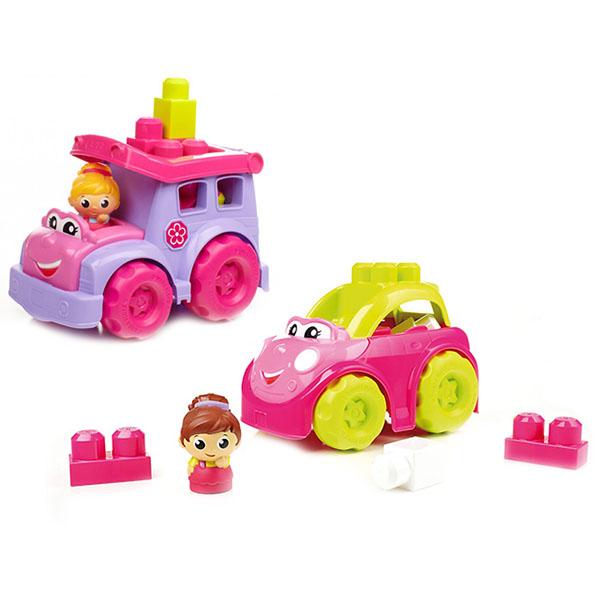 Mattel Mega Bloks CXP13 Мега Блокс Маленькие транспортные средства для девочек (в ассортименте) mattel mega bloks cnd62 мега блокс маленькие транспортные средства в ассортименте