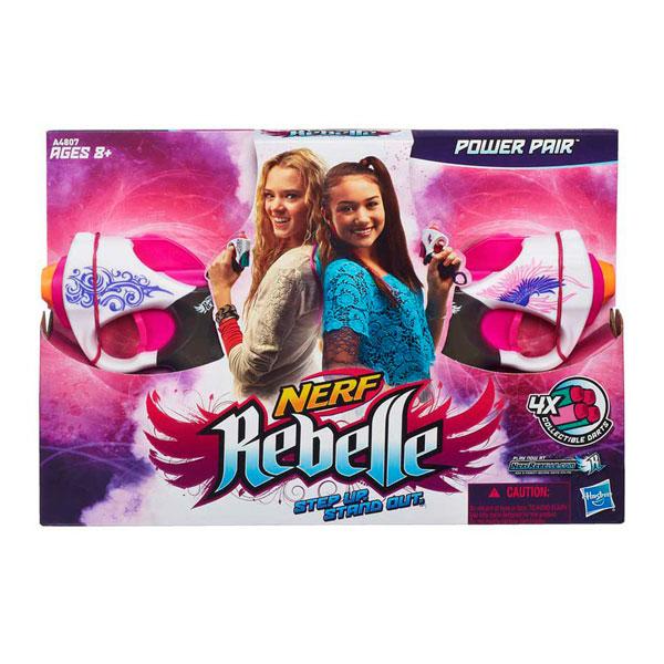 """Hasbro Nerf A4807 N-Rebelle Мини-бластеры """"Сладкая парочка"""", 2 шт в упаковке"""