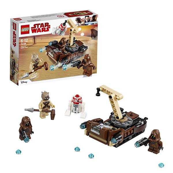 Lego Star Wars 75198 Конструктор Лего Звездные Войны Боевой набор планеты Татуин
