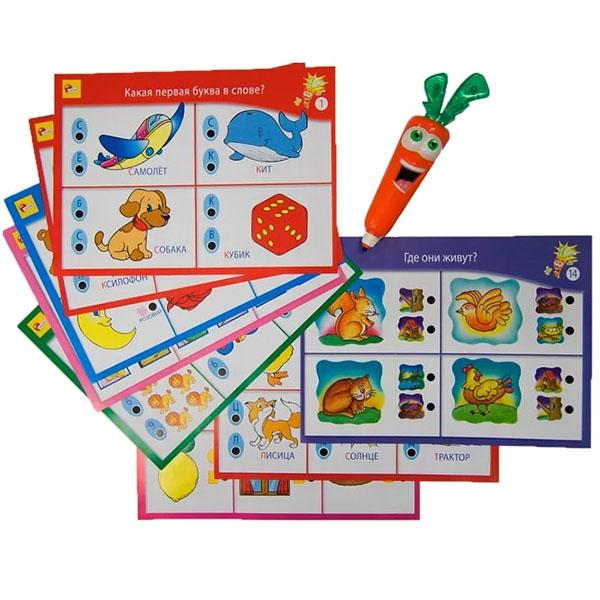 LISCIANI R36523 Обучающая игра ДЛЯ САМЫХ МАЛЕНЬКИХ с интерактивной Морковкой обучающая игра lisciani лаборатория 10 игр с интерактивной морковкой r36530