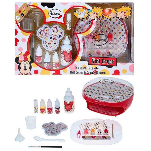Markwins 9605751 Minnie Набор детской декоративной косметики для ногтей markwins набор детской декоративной косметики для ногтей minnie mouse