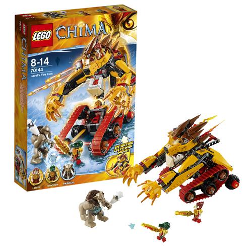 Lego Legends of Chima 70144 Конструктор Огненный Лев Лавала