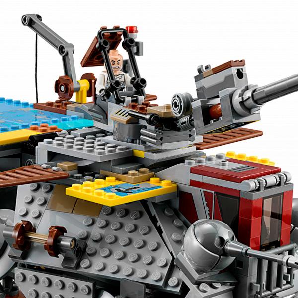Lego Star Wars 75157 Конструктор Лего Звездные Войны Шагающий штурмовой вездеход AT-TE Рекса