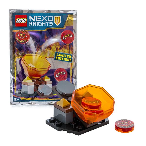Lego Nexo Knights 271607 Лего Нексо Катапульта ластики lego набор ластиков 4 шт lego nexo knights рыцари нексо