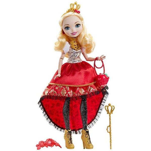 Mattel Ever After High DVJ18 Отважные принцессы Эпл Вайт mattel ever after high bbd44 чериз худ