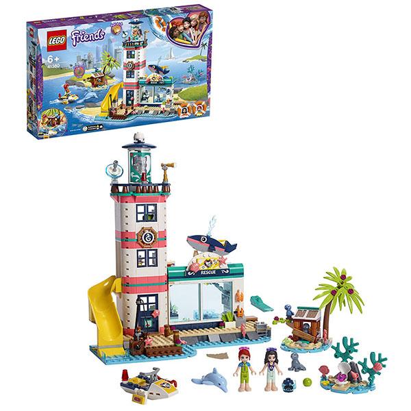 LEGO Friends 41380 Конструктор ЛЕГО Подружки Спасательный центр на маяке цена