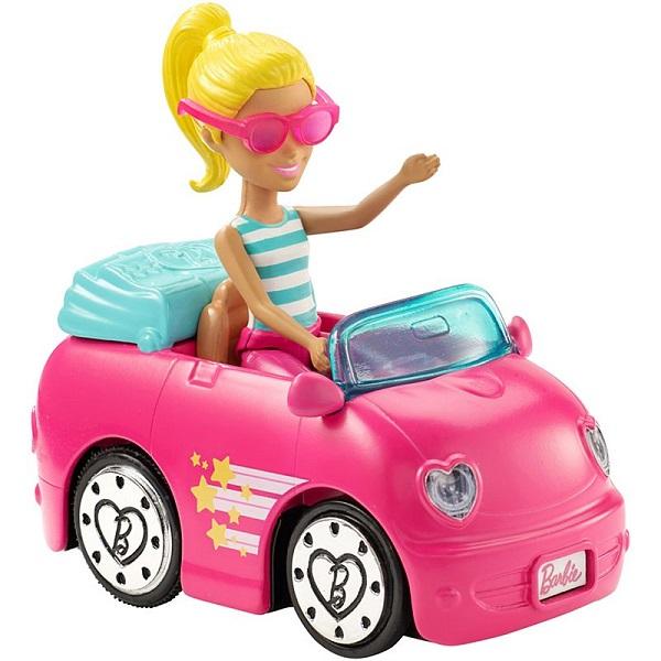 """Mattel Barbie FHV77 Барби Кукла """"В движении"""" Автомобиль и кукла"""