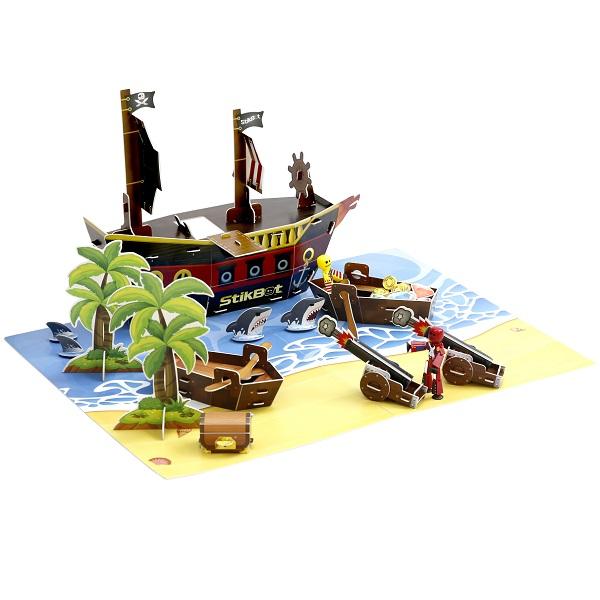 "Stikbot TST623P Стикбот набор ""Пиратский корабль"""