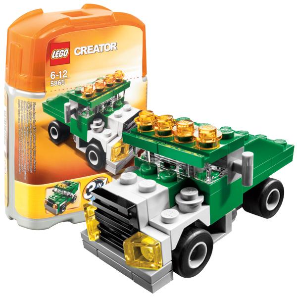 Конструктор Лего Криэйтор 5865 Конструктор Мини самосвал