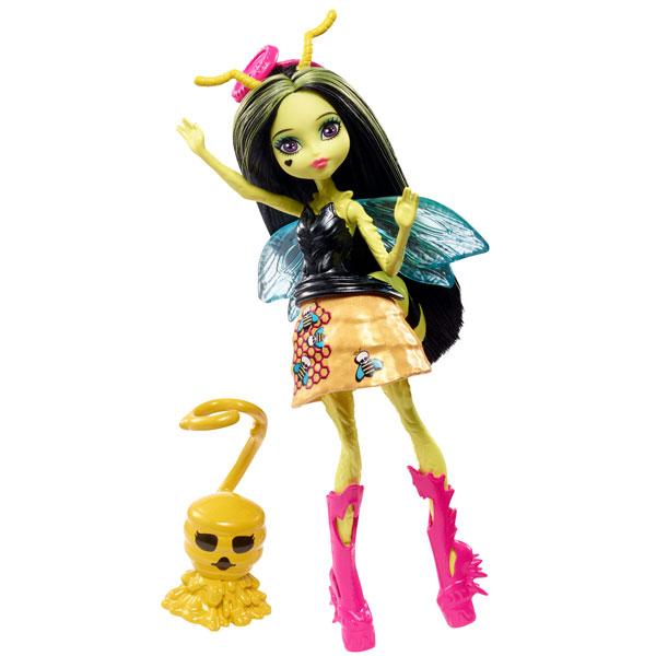 Mattel Monster High FCV49 Цветочные мини-монстрики с питомцами