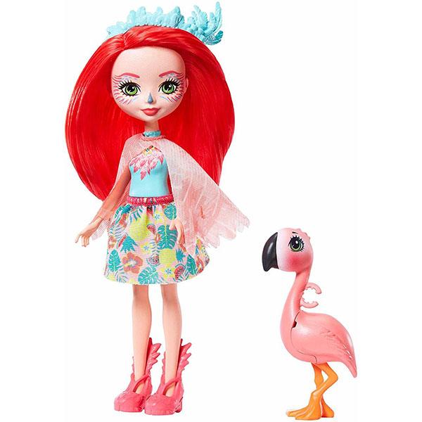 Mattel Enchantimals GFN42 Кукла с любимой зверюшкой кукла enchantimals со зверушкой и тематическим набором fcc62 праздник фламинго