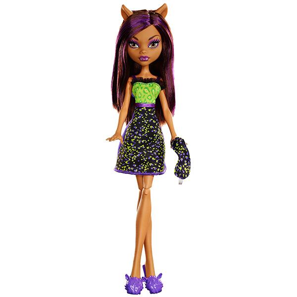 Mattel Monster High DPC43 Кукла Пижамная вечеринка Клодин Вульф куклы monster high кукла
