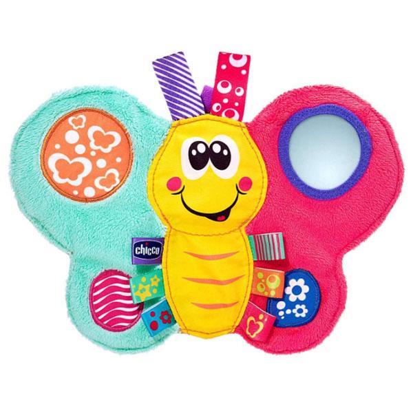CHICCO TOYS 7893AR Развивающая игрушка Бабочка мягкая игрушка chicco 92408