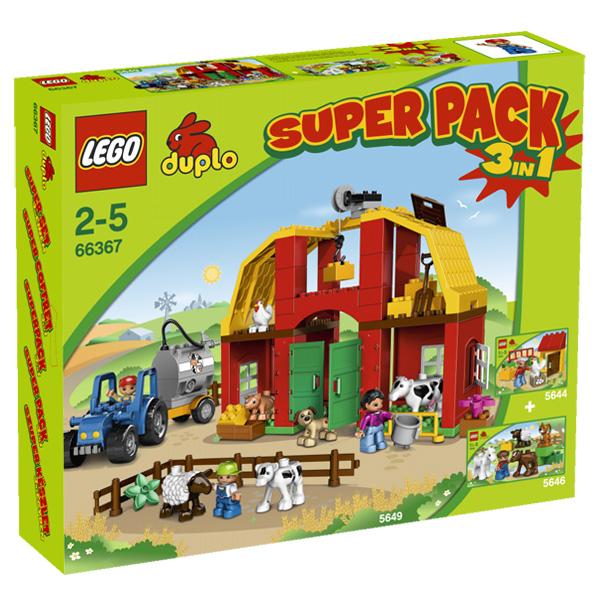 Lego Duplo 66367 Конструктор Подарочный Суперпэк Дупло Ферма