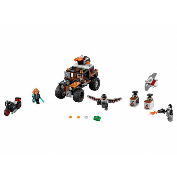 Lego Super Heroes 76050 Конструктор Лего Супер Герои Опасное ограбление