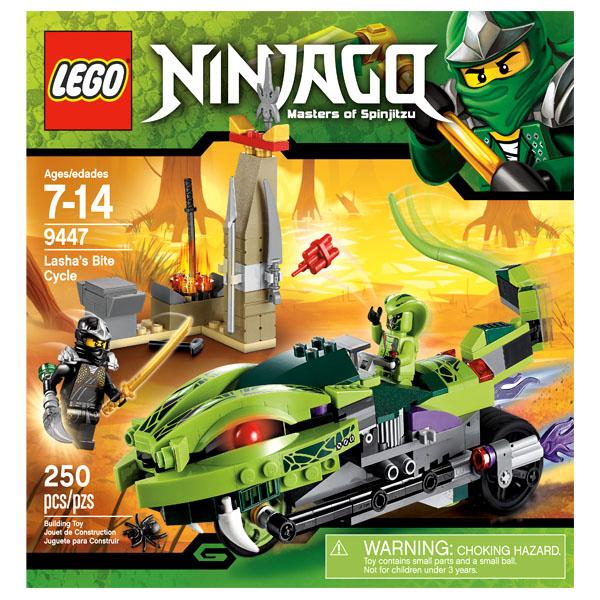 Lego Ninjago 9447 Конструктор Лего Ниндзяго Лаша на мотоцикле