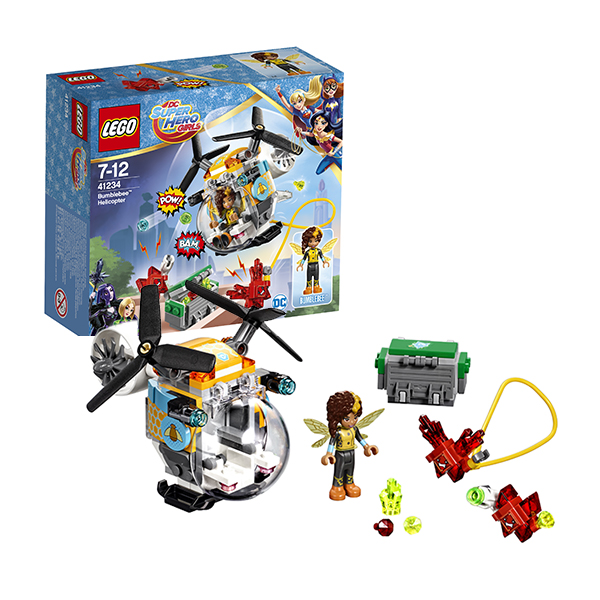 Lego Super Hero Girls 41234 Конструктор Лего Супергёрлз Вертолёт Бамблби