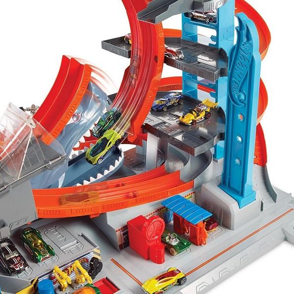 Mattel Hot Wheels FTB69 Хот Вилс Сити Невообразимый гараж
