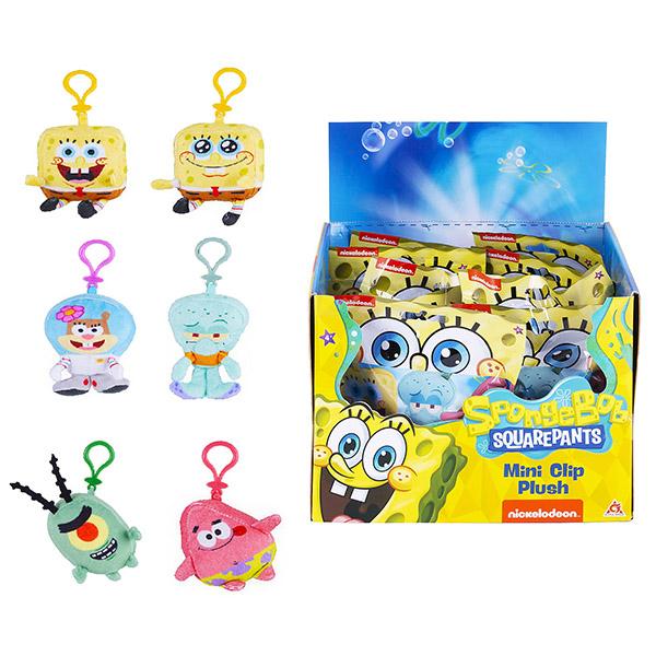 SpongeBob EU690400 Брелок 10 см (в ассортименте) игрушка брелок мягконабивная назад к истокам huggy buddha talisman