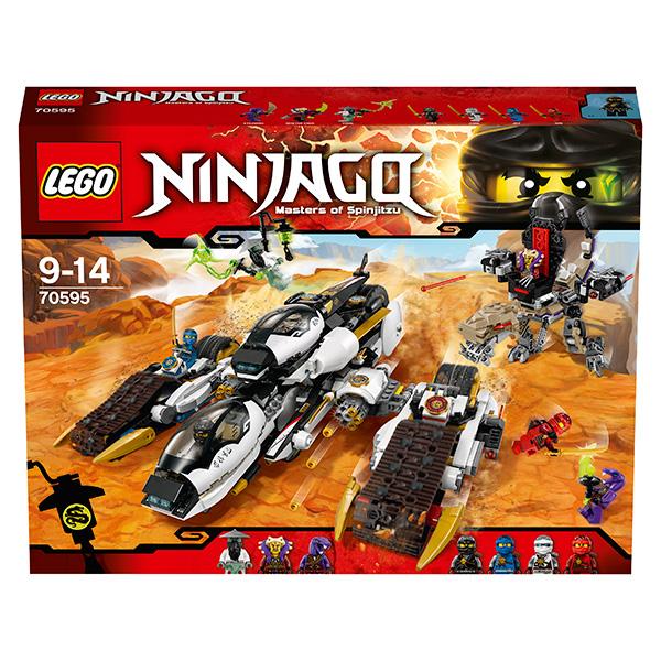 Lego Ninjago 70595 Конструктор Лего Ниндзяго Внедорожник с суперсистемой маскировки