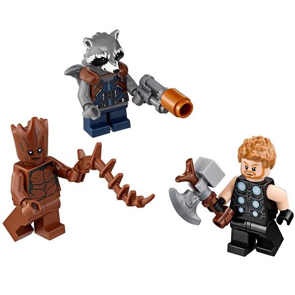 Lego Super Heroes 76102 Конструктор Лего Супер Герои В поисках оружия Тора