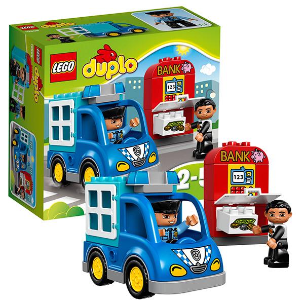 Lego Duplo 10809 Конструктор Лего Дупло Полицейский патруль lego duplo конструктор гоночный автомобиль 10589