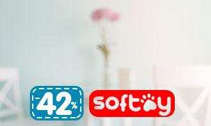 Скидки до 42% на SOFTOY