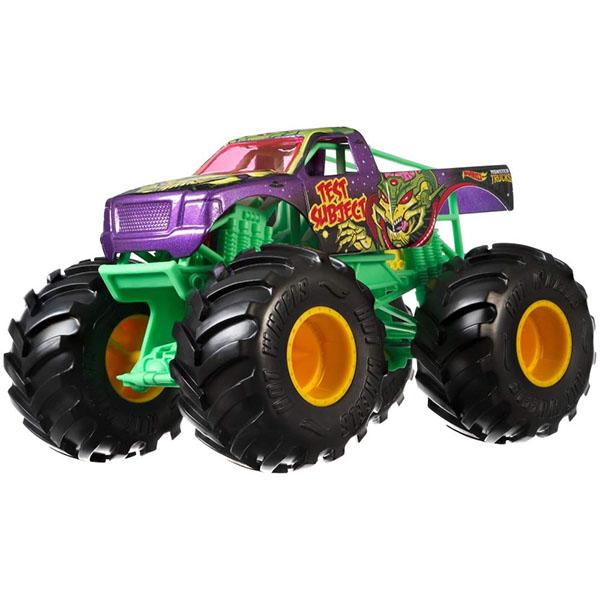 Mattel Hot Wheels GBV38 Хот Вилс Монстр трак 1:24 TEST SUBJECT