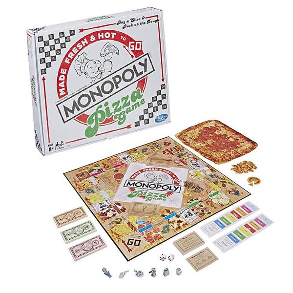 "Hasbro Monopoly E5798 Игра настольная ""Монополия пицца"""