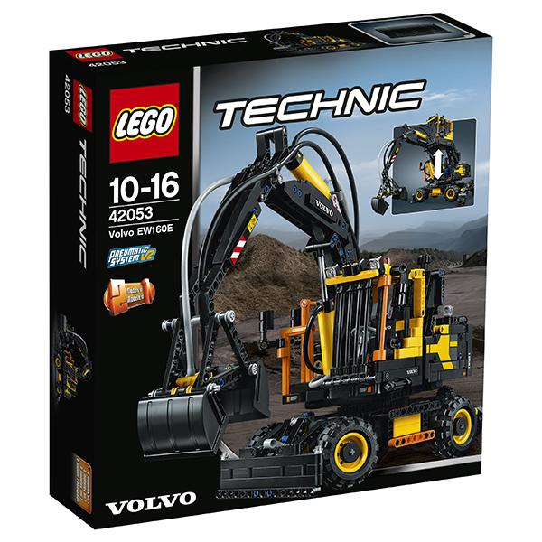Lego Technic 42053 Конструктор Экскаватор Volvo EW 160E
