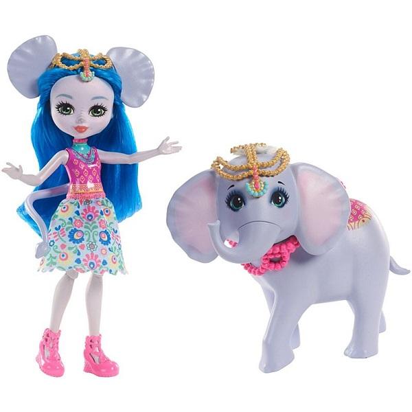 Mattel Enchantimals FKY73 Кукла с большой зверюшкой дополнительная кукла enchantimals со зверюшкой в ассортименте