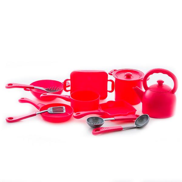 Boley 41229C Игровой набор Кухонная посуда 13 предметов посуда кухонная