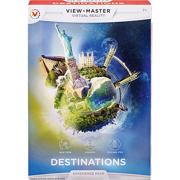 """Mattel View Master DLL69 Набор визуализации """"Достопримечательности"""""""
