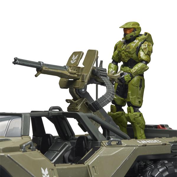 "HALO HLW0016 Фигурка героя Master Chief 3.75"" с Warthog и аксессуарами"