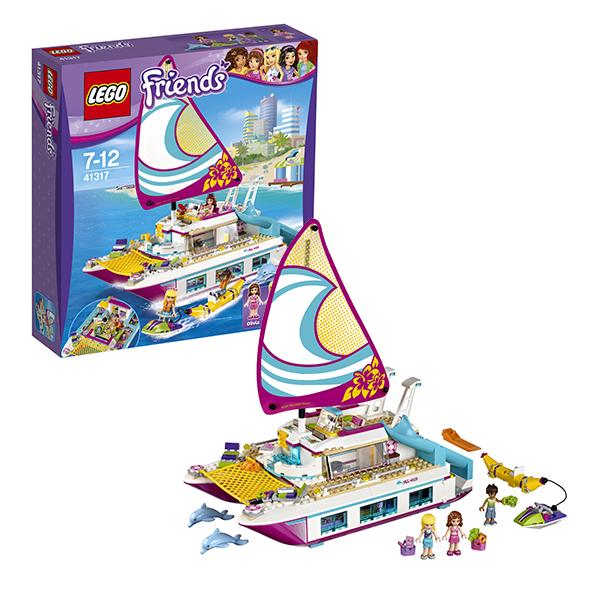 Lego Friends 41317 Лего Подружки Катамаран Саншайн