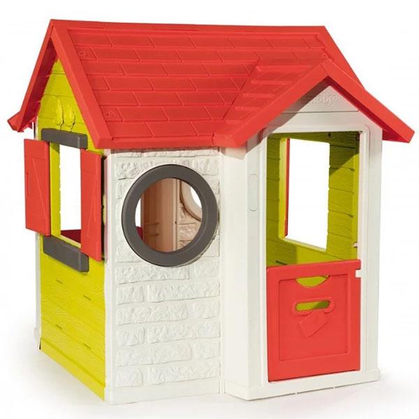 Smoby 810402 Игровой детский домик со звонком цена