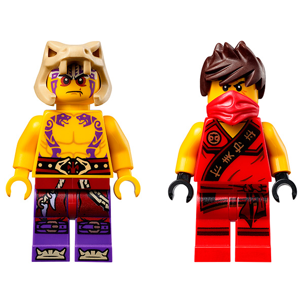 Конструктор Lego Ninjago 70752 Лего Ниндзяго Ловушка в джунглях